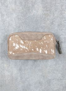 Metallic Tia Make Up Bag