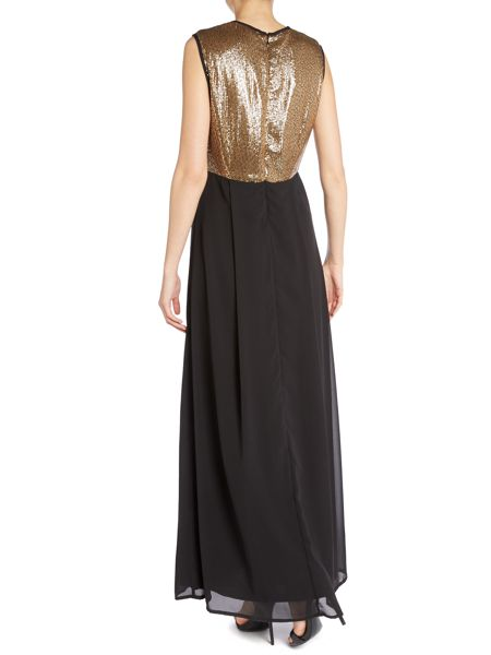 Silvian Heach Sleeveless sequin maxi dress