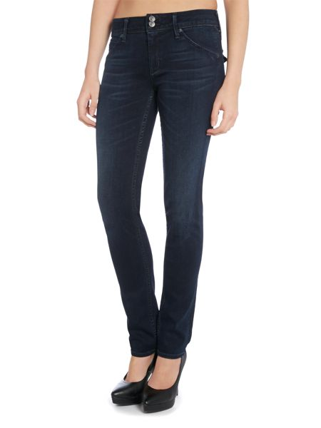 Hudson Jeans Collin signature skinny jeans in follow me
