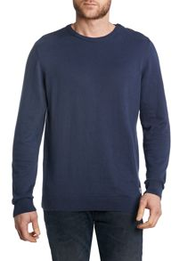 Jack & Jones Men`S Vintage Crew Button Neck Knit