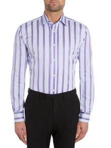 Ted Baker Toft Bold Duo Stripe Regular Fit Shirt