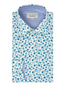 Ted Baker Wroxall Regular Fit Large Floral Print Shirt