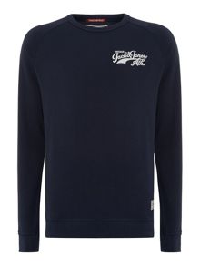 Men`s track and field crew sweat