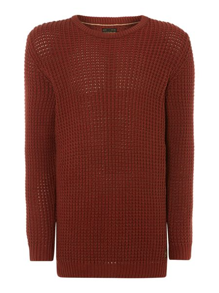 Jack & Jones Moss stitch campbell knit