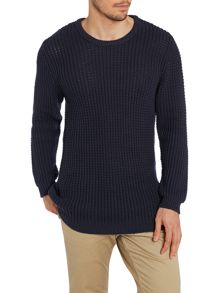 Moss stitch campbell knit