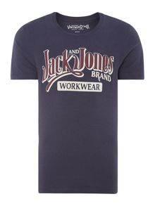 Men`s cotton workwear t-shirt
