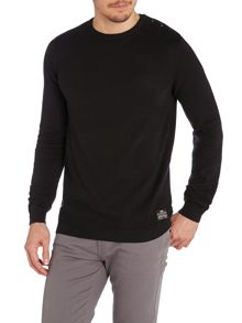 Men`s crew neck bush knit