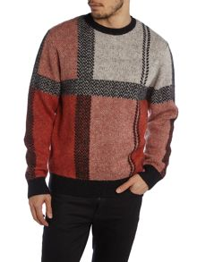 Jacquard square knit