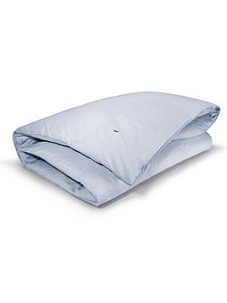 Oxford blue super king duvet cover