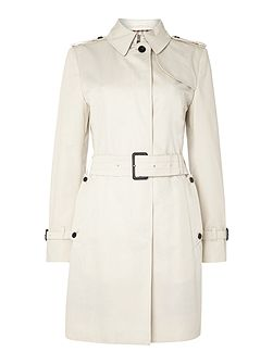 Franca Single Breasted Raincoat