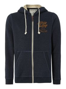 Men`s zip thru teddy hoodie