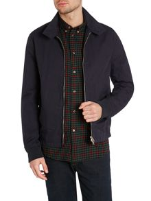 Zip up harrington jacket