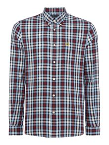 Long Sleeve Multi Check Shirt