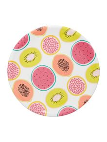 Fruits side plate