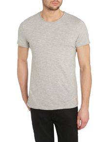 Mens slub crew top