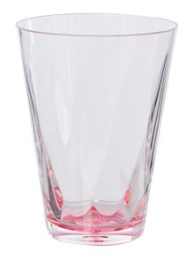 Pink colour burst acrylic tumbler