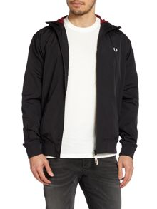 Hooded sailing jacket