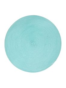 Olso placemat teal set of 4
