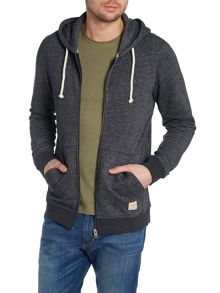 Mens long sleeve hooded sweat