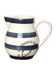 Anchor Stripe Pitcher