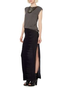 Label Lab Tie Dye Jersey Maxi Skirt