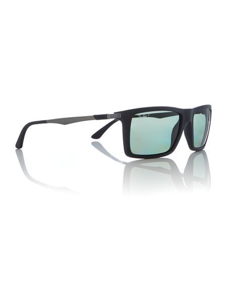 Ray-Ban 0RB4214 Rectangle Sunglasses