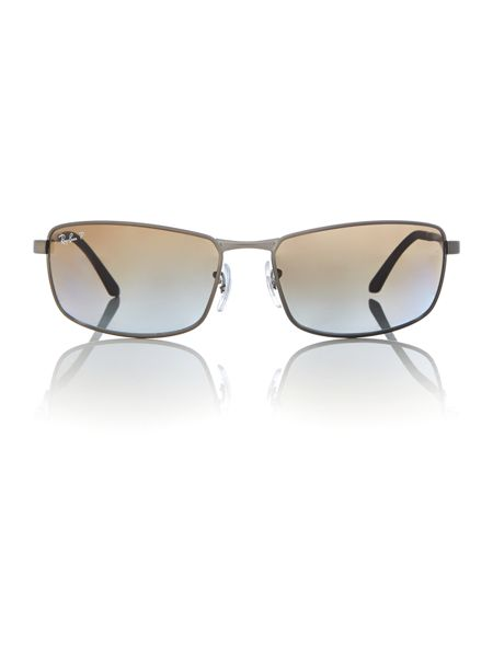 Ray-Ban 0RB3498 Rectangle Sunglasses