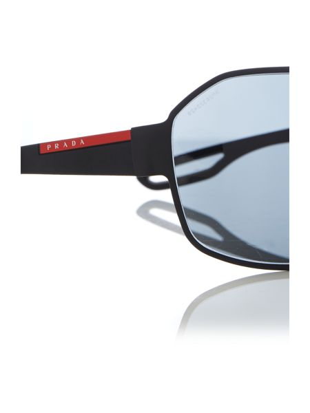 Prada Linea Rossa 0PS 52QS Rectangle Sunglasses