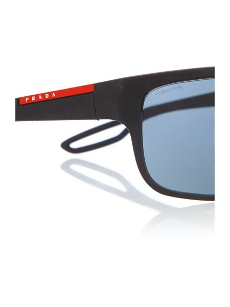 Prada Linea Rossa 0PS 50QS Rectangle Sunglasses
