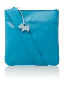 Pocketbag blue small crossbody bag