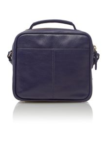 Victoria park navy small crossbody bag