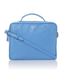 Victoria park blue medium crossbody bag