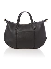 Turnham green black small crossbody tote