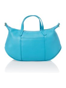 Turnham green blue small crossbody tote
