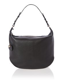 Turnham green black medium hobo bag