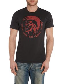 T-Ulysse Mohican Graphic T Shirt