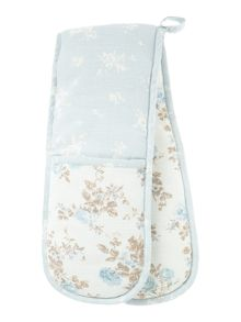 Flora double oven glove