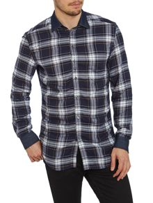 Diesel Check pocket shirt