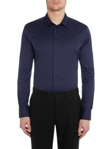 Strech Cotton Slim Fit Shirt