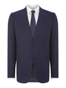 Armani Collezioni Textured slim fit suit