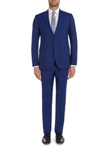 Wool Mohair Slim Fit Suit