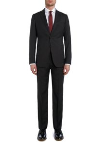 Solid Slim Fit Suit