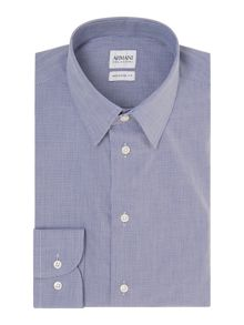 Micro Check Regular Fit Shirt