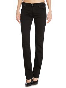 Straight leg jeans in Portland Black