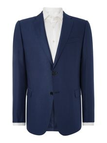 Armani Collezioni Textured Slim Fit Jacket