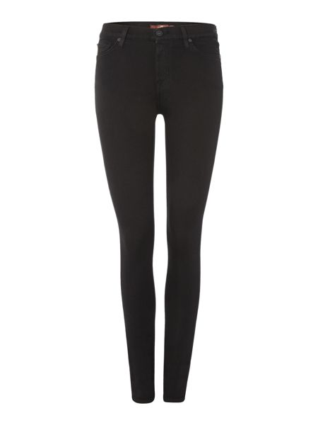 7 For All Mankind The Skinny jeans in Phoenix Black