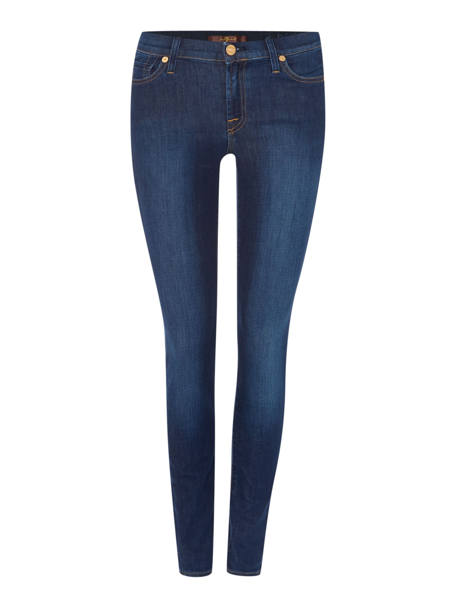 7 For All Mankind 7 For All Mankind The Skinny jeans in Boston Blue, Denim Dark Wash