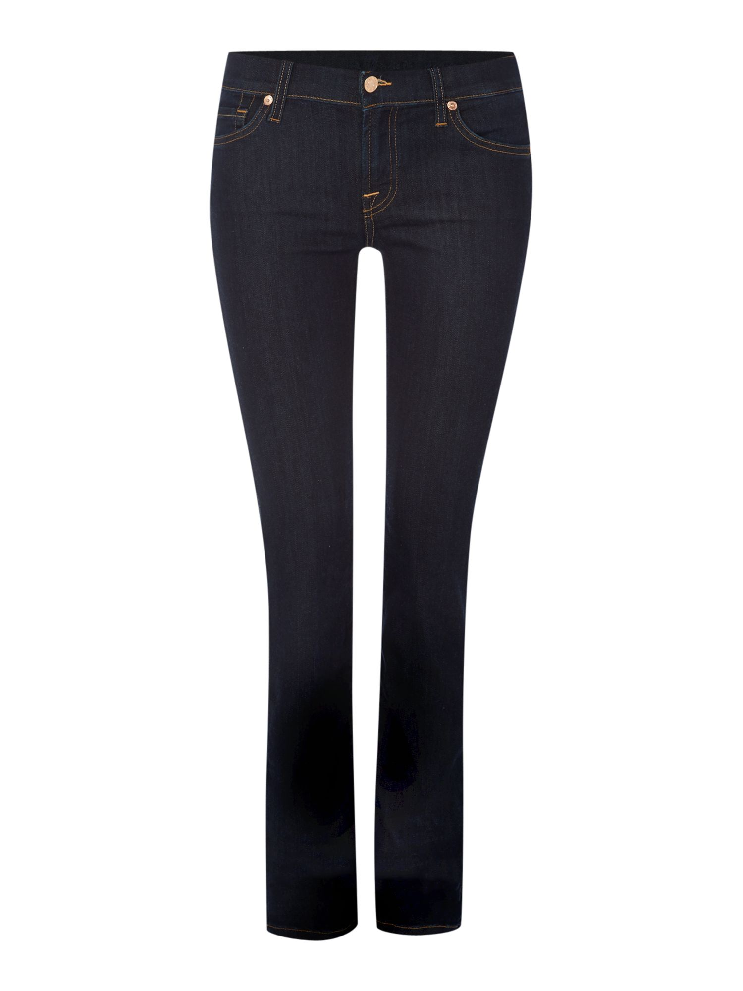 7 For All Mankind 7 For All Mankind Roxanne slim jeans in Long Dark Beach, Denim Dark Wash