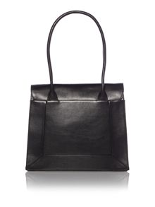 Radley Border black large flap over tote bag