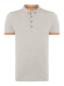 Trim detail polo shirt